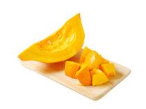 Sweet potato and pumpkin puree