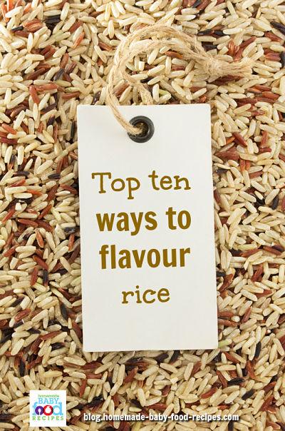 Top 10 ways to flavor rice