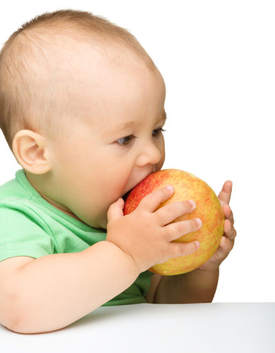My baby will only eat sweet foods