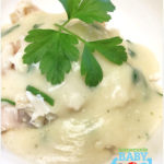 Flaked Fish With Parsley Sauce Recipe