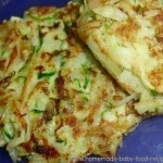 Finger Food Recipe for Baby – Zucchini and Potato Cakes