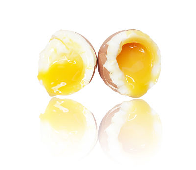 Is it safe to eat runny egg yolk?