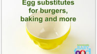 Egg substitutes for baby food recipes