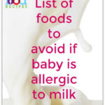 Baby Milk Allergy – Which Foods to Avoid
