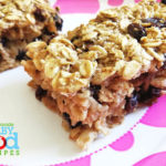 Delicious Oat Bars For Baby – Sugar Free and Full of Whole Grain Goodness