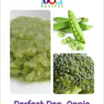 Perfect Pea, Apple and Broccoli Puree