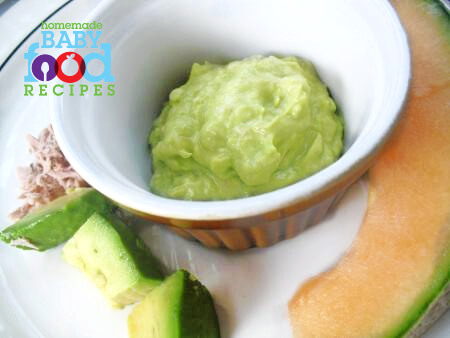 Omega 3 archives the homemade baby food recipes blog the no cook baby food tuna melon and avocado salad forumfinder Image collections