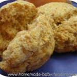 Easy Wheaty Sweet Potato Biscuits