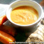 Carrot and Ginger Soup – A Winter Warmer For Baby