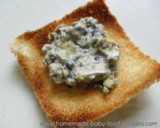Avocado and black bean spread baby food recipe