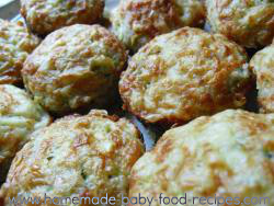 Zucchini muffins baby food recipe