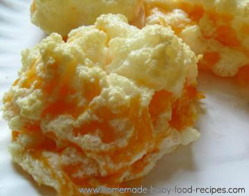 Cheese meringue recipe