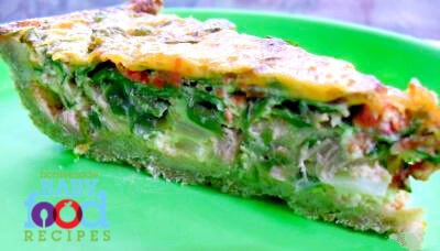 Tuna and spinach quiche recipe