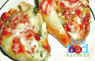 Ricotta and Spinach Stuffed Pasta Shellsa Delicious Way to