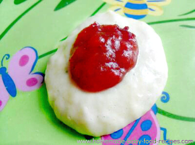 Plum and banana puree baby food recipe