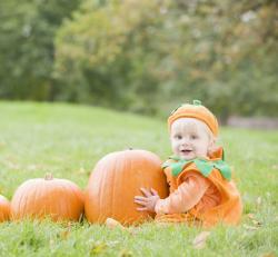 Pumpkin baby food recipes for Halloween