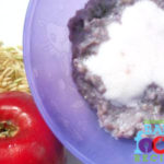 Whole Grain Brown Rice and Blueberry Breakfast for Baby