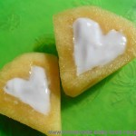 Cantaloupe and Blueberry Hearts – an Easy Valentine's Day Treat for Baby