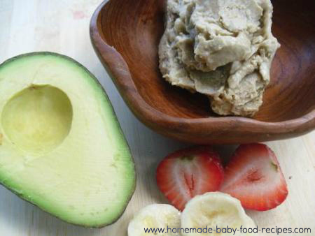 Healthy ice cream for baby