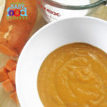 Sweet Potato and Coconut Soup for Baby