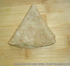 Dough cones for sweet potato samosas