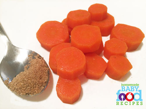 Curried Carrot Coins