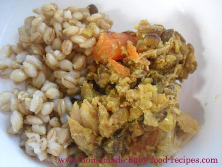 Chicken and Lentil One Pot Dinner