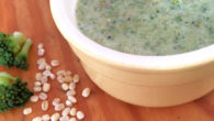 Barley and broccoli puree baby food recipe