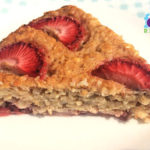 Baby's Banana 'N Strawberry Oatmeal Slice