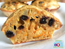 Butternut squash muffins for baby
