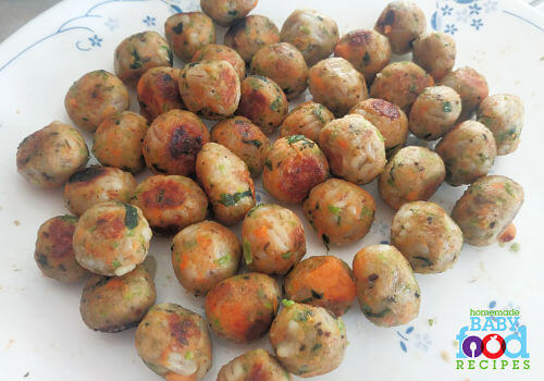 Barley balls