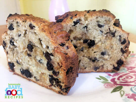 Easy banana bread for baby the homemade baby food recipes blog easy banana bread for baby forumfinder Gallery