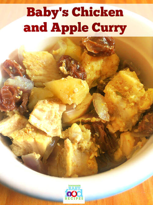 Babys chicken and apple curry recipe the homemade baby food babys chicken and apple curry recipe forumfinder Gallery