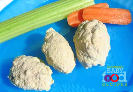 Babys Tender Chicken Rissoles Recipe The Homemade Baby Food