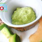 No Cook Baby Food: Tuna, Melon and Avocado Salad
