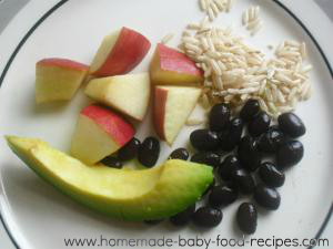 Black bean and brown rice dinner a vegetarian baby food recipe black bean and brown rice dinner complete protein baby food recipe forumfinder Choice Image