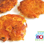 Sweet Potato and Cheese Pancakes for Baby