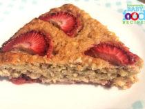 Baby's Banana 'N Strawberry Oatmeal Slice