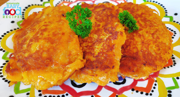 Sweet Potato Boxty for Baby
