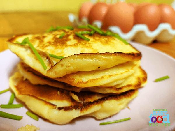 Potato Pancakes for Baby