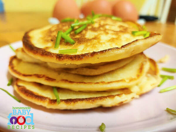 A stack of potato pancakes